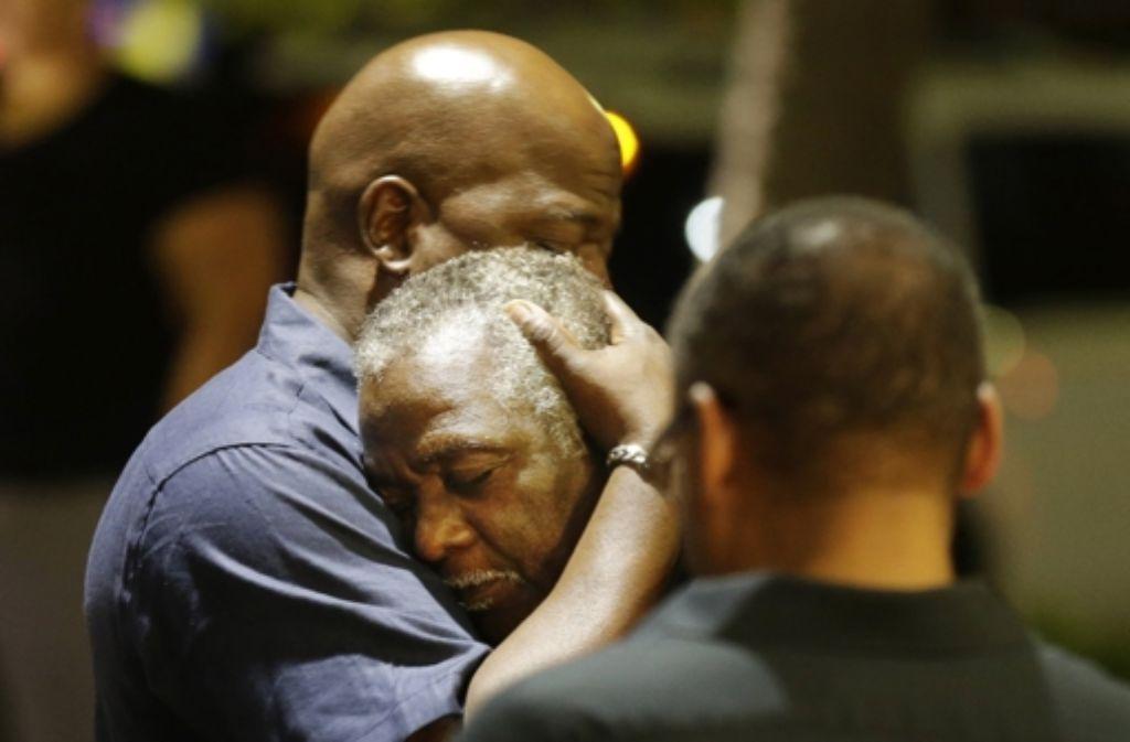 Das Attentat in Charleston hatte weltweit Bestürzung ausgelöst. Foto: AP