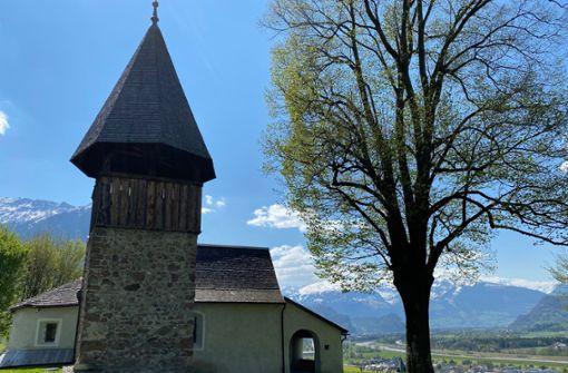 Von der St. Mamerta Kapelle in Triesen ...
