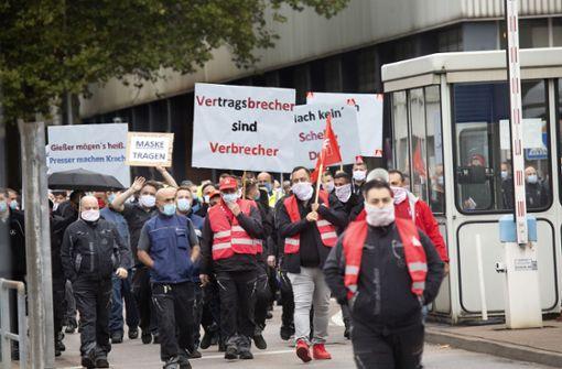 Daimler muss seine Zukunftspläne den Mitarbeitern erklären