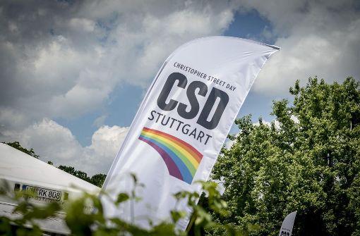 Regenbogen und Sonnenschein auf dem CSD-Festival