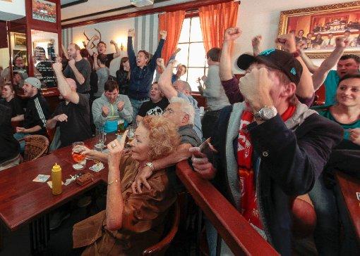 Fans leiden und feiern mit dem VfB