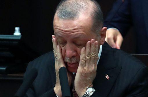 Pures Dynamit: Erdogan und der Mafiapate