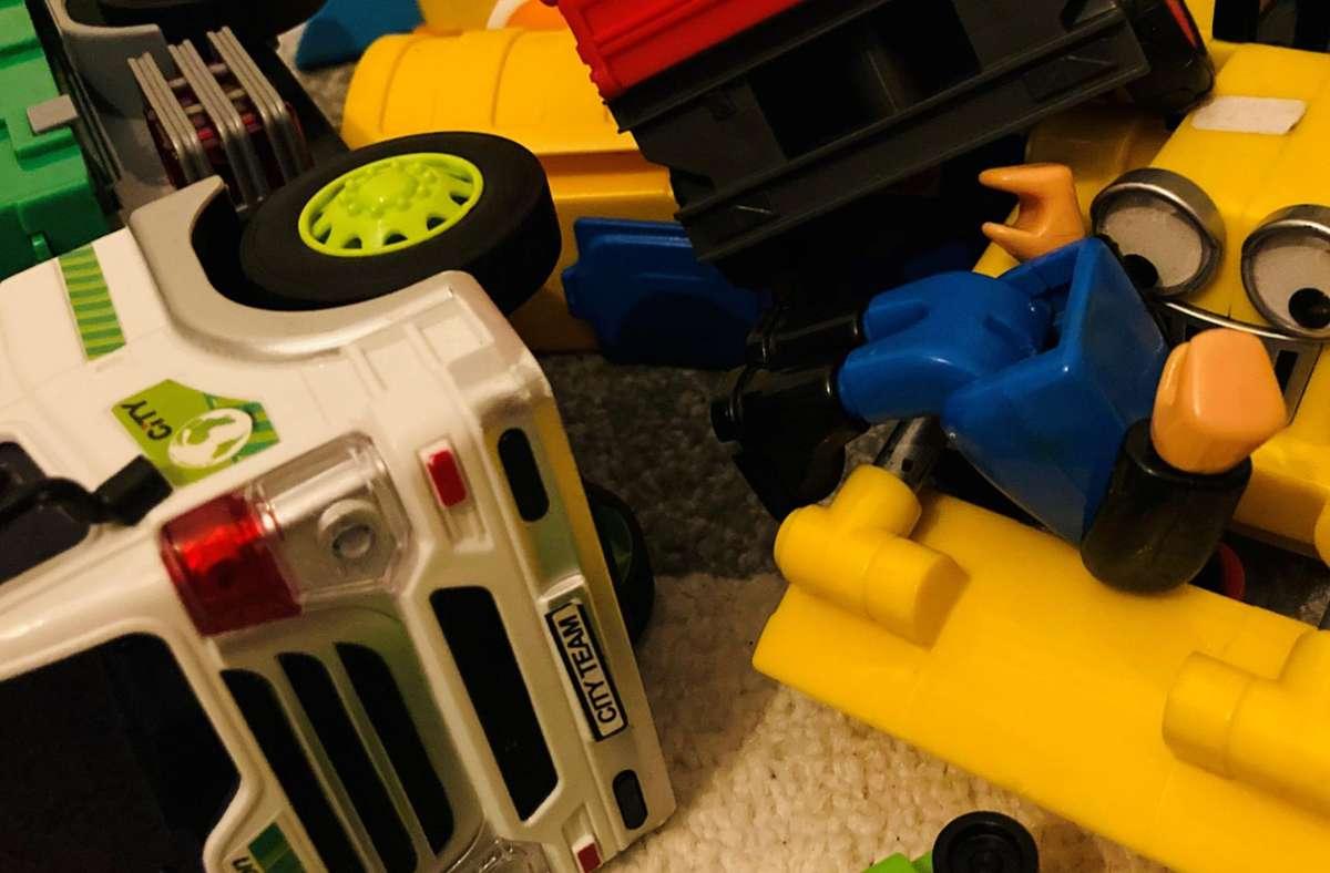 Silvesterquiz: Ist das (a) ein neuer Film von Roland Emmerich oder (b) ein Kind, das Spaß hat? Foto: Setzer