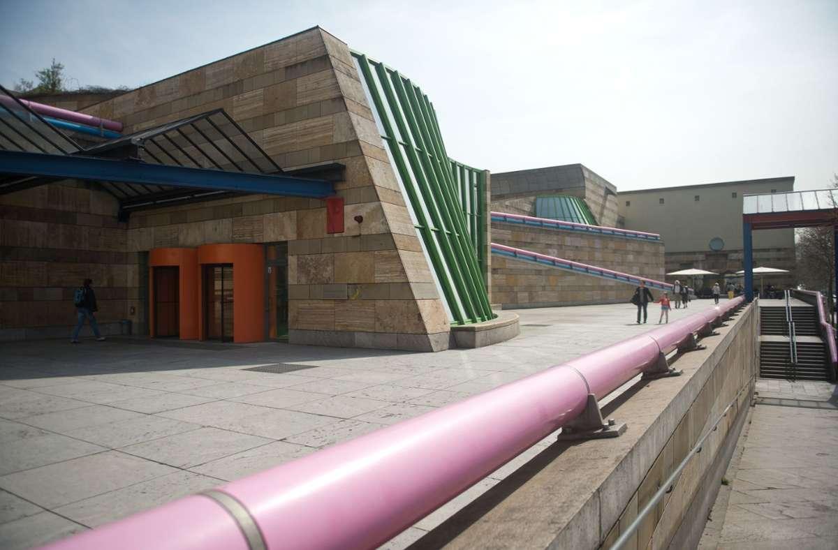 Im Parkhaus der Staatsgalerie ist es zu einem Unfall gekommen. (Archivbild) Foto: picture alliance/dpa/Daniel Naupold