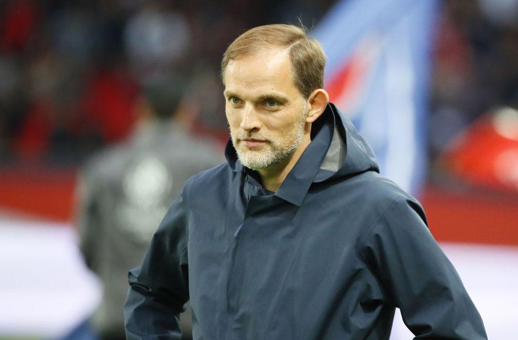 Thomas Tuchel hat seinen Vertrag bei PSG vorzeitig um ein Jahr verlängert. (Archivbild) Foto: AP