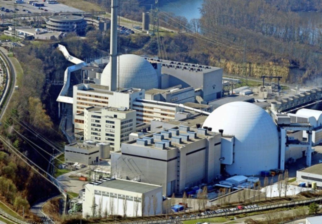 Das  Zwischenlager beim Atomkraftwerk Neckarwestheim soll besser gegen Angriffe von außen geschützt werden. Foto: dpa