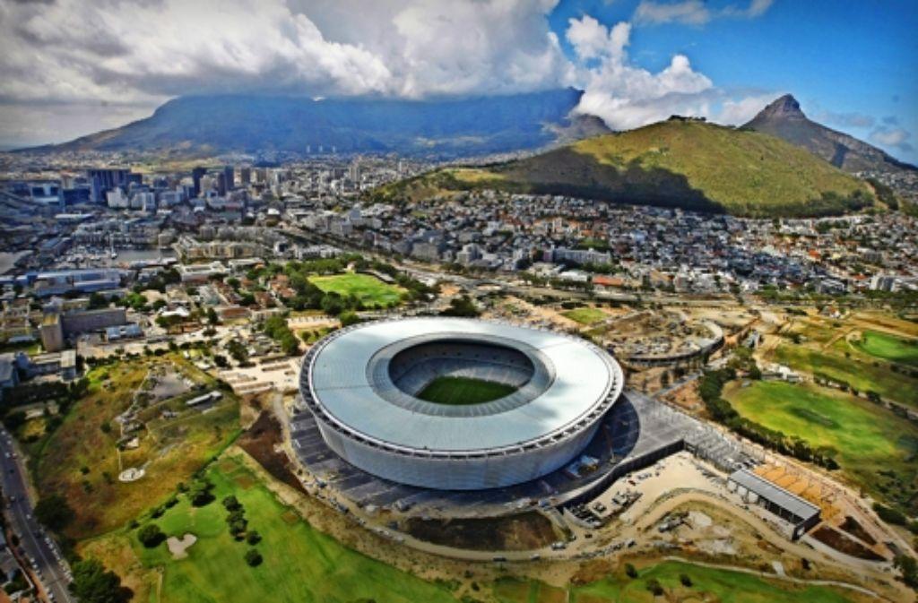 Das WM-Stadion in Kapstadt steht die meiste Zeit über leer. Foto: dpa