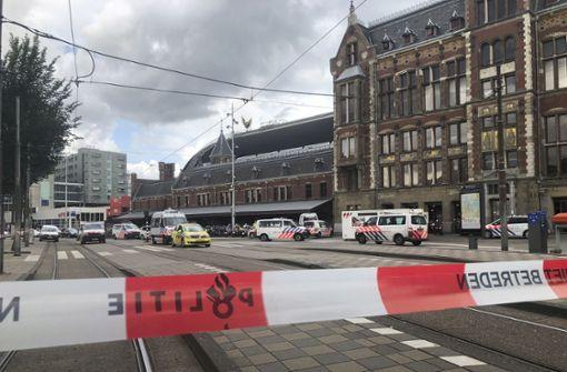 Polizei schießt Messerangreifer nieder