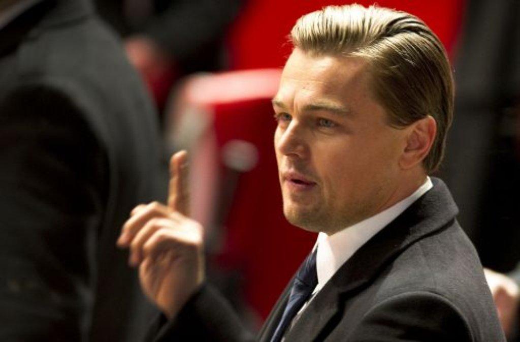 Platz 7: Leonardo DiCaprio (5 Prozent) Foto: dpa