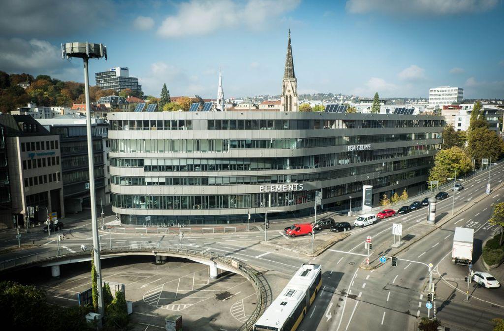 Im Caleido am Österreichischen Platz gibt es Serviced Apartments. Foto: Lichtgut/Achim Zweygarth