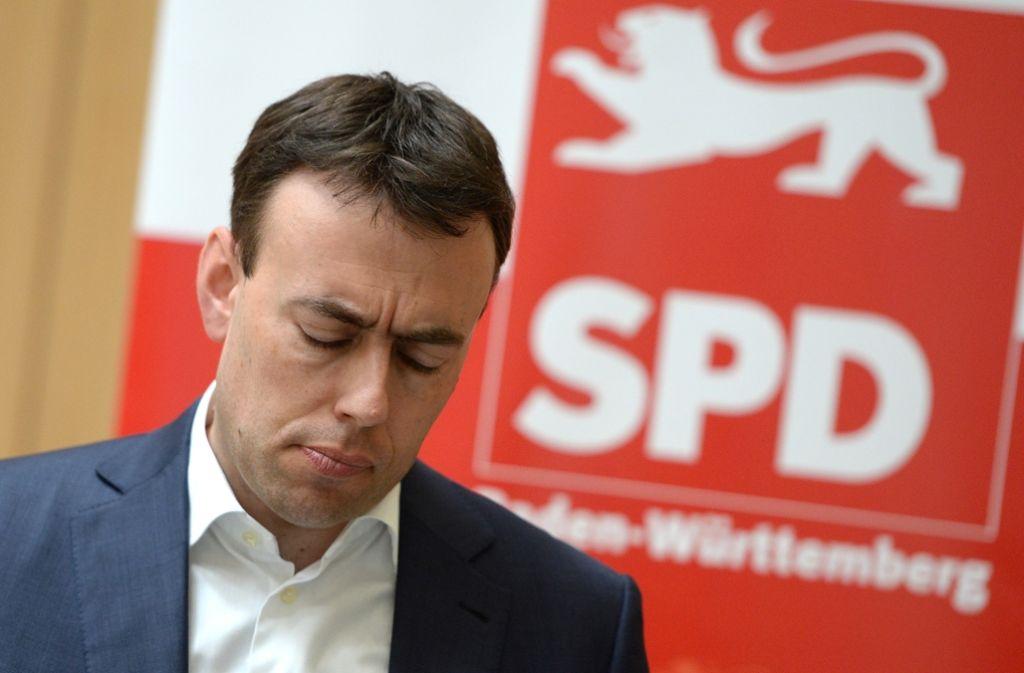 SPD-Landeschef Nils Schmid nimmt im Herbst seinen Hut. Foto: dpa