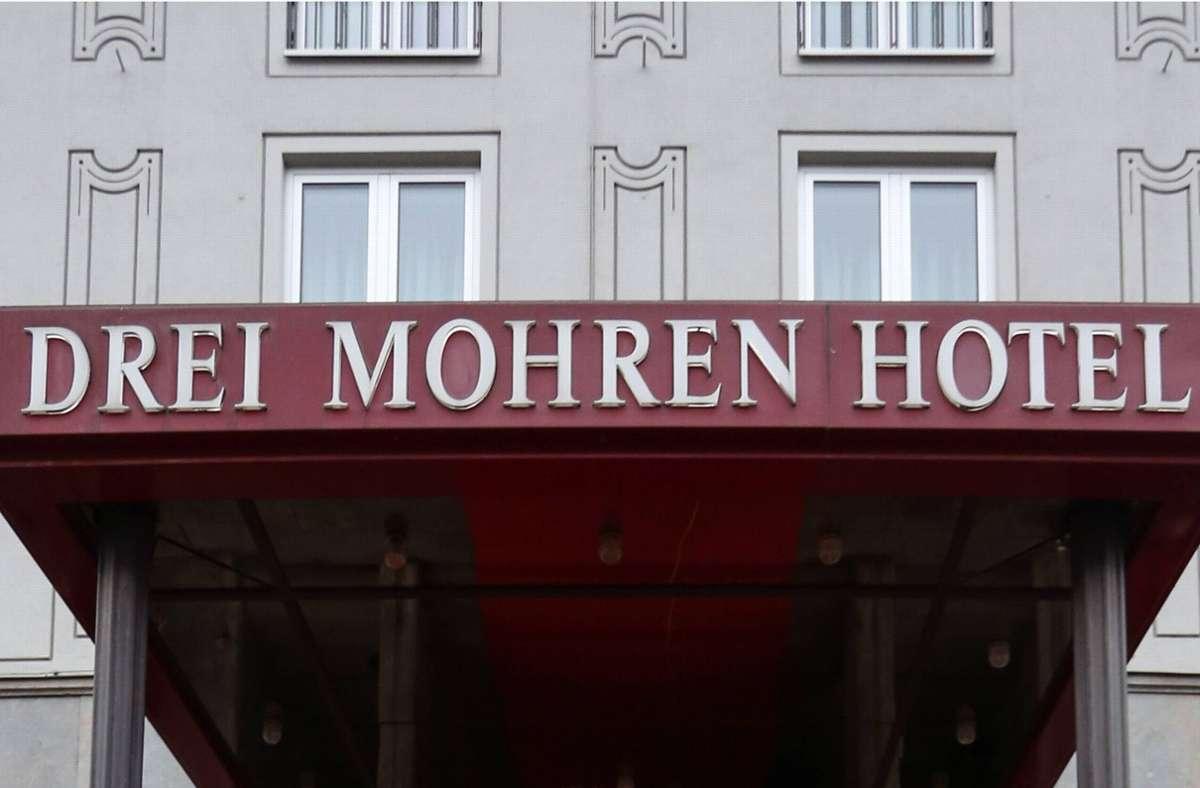 """Das Hotel """"Drei Mohren"""" erhält einen neuen Namen. Foto: imago/Krieger/imago sportfotodienst"""