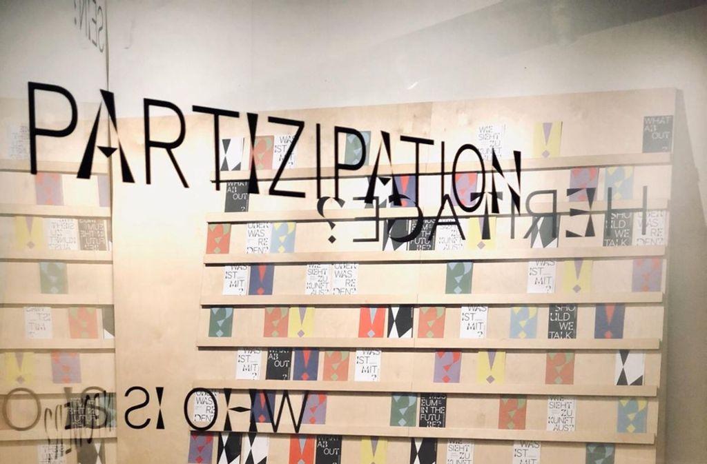 """Im neuen """"Linden LAB"""" ist Partizipation wichtig. Foto: Linden-Museum"""