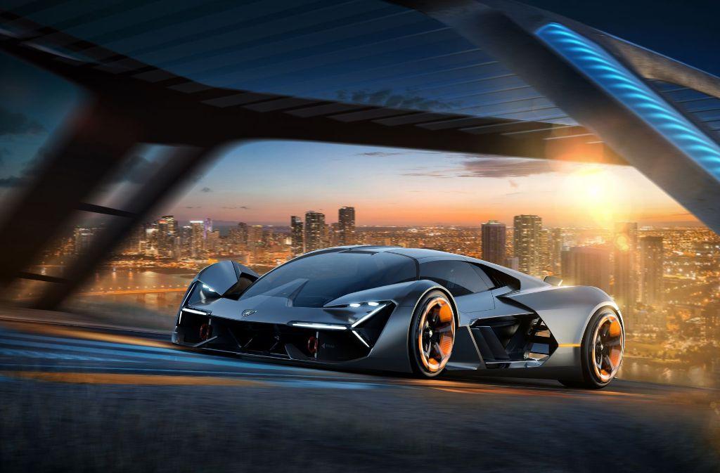 Angetrieben wird das neue Konzept von Superkondensatoren.  Foto: Lamborghini