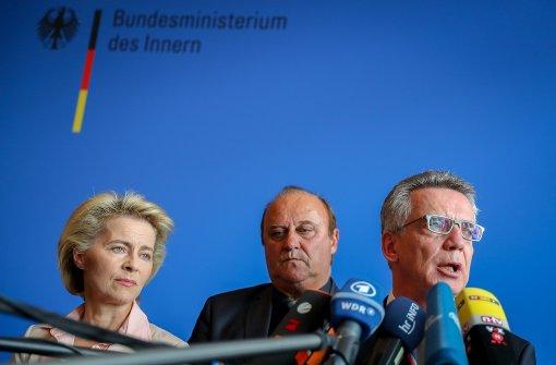 Bundeswehr und Polizei üben im Februar gemeinsam