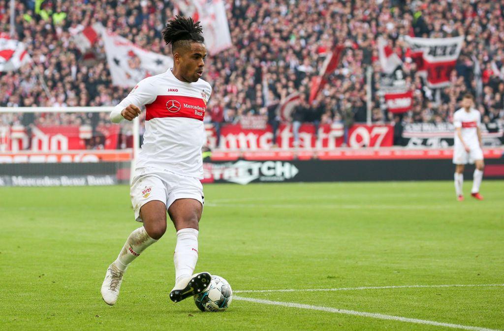 Daniel Didavi zeigte eine hervorragende Leistung gegen den FC Erzgebirge Aue. Foto: Baumann