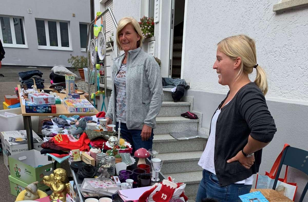 Hofflohmarkt in Plieningen Foto: Claudia Leihenseder