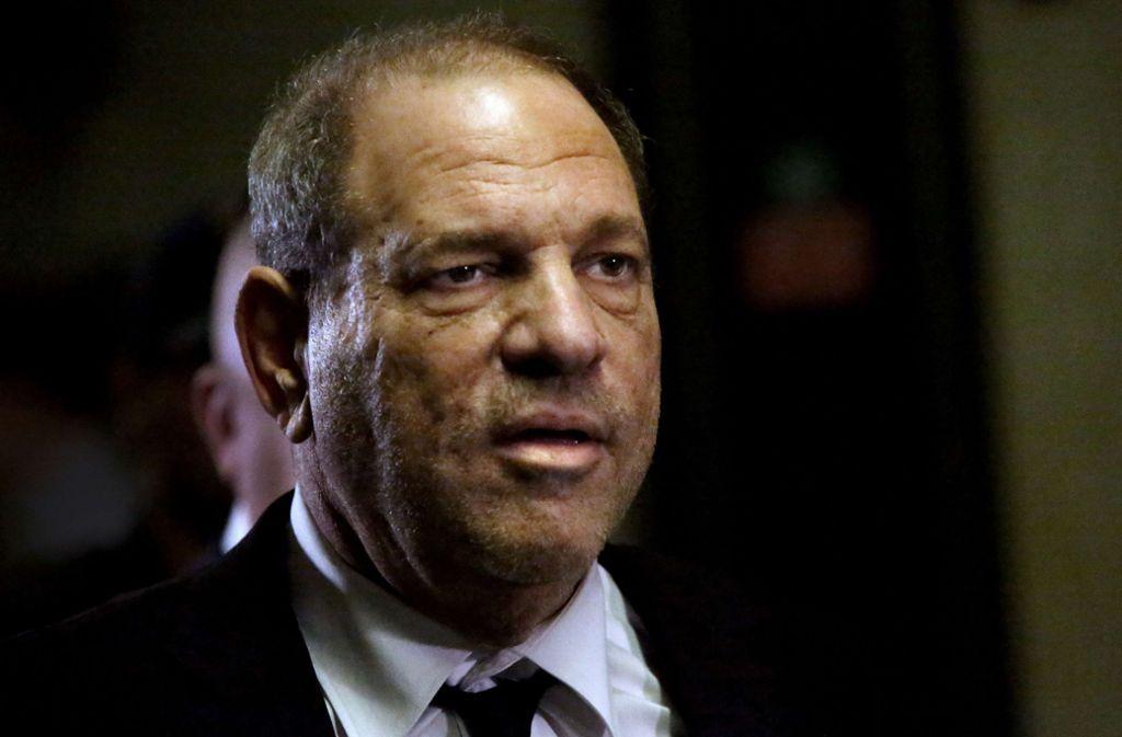 """Harvey Weinstein betonte gegenüber der """"New York Post"""", dass er schon vor 30 Jahren Frauen in der Branche gefördert habe. (Archivbild) Foto: AFP/Yana Paskova"""