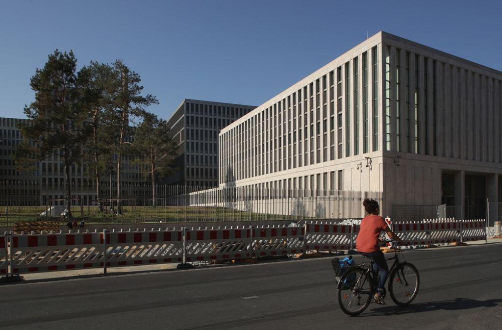 Der Neubau des Bundesnachrichtendienstes in Berlin Foto: Getty Images Europe