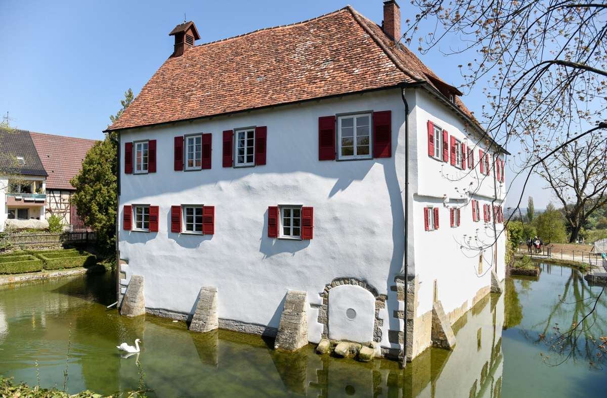 Im Garten der Burg Kalteneck in Holzgerlingen findet am Freitagabend ein Open-Air-Konzert statt. Foto: Kreiszeitung Böblinger Bote/Thomas Bischof