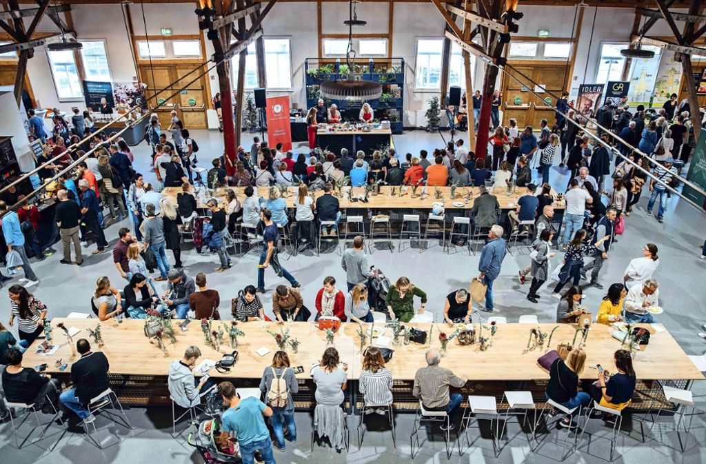 Ausreichende Sitzgelegenheiten sind den Machern der Messe Speis & Trank wichtig. Foto: Jjaydee  Nujsongsinn
