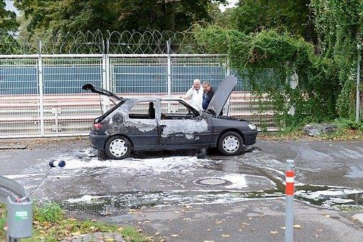 Der 21-Jährige, der sich wohl aufgrund einer persönlichen Beziehung das Leben genommen hat, sollte am Tag seines Suizids zu seinen Kenntnissen über rechtsextremistische Strukturen befragt werden. Foto: www.7aktuell.de | Oskar Eyb