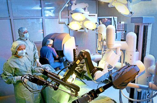 Kliniken steigen in die Robotermedizin ein