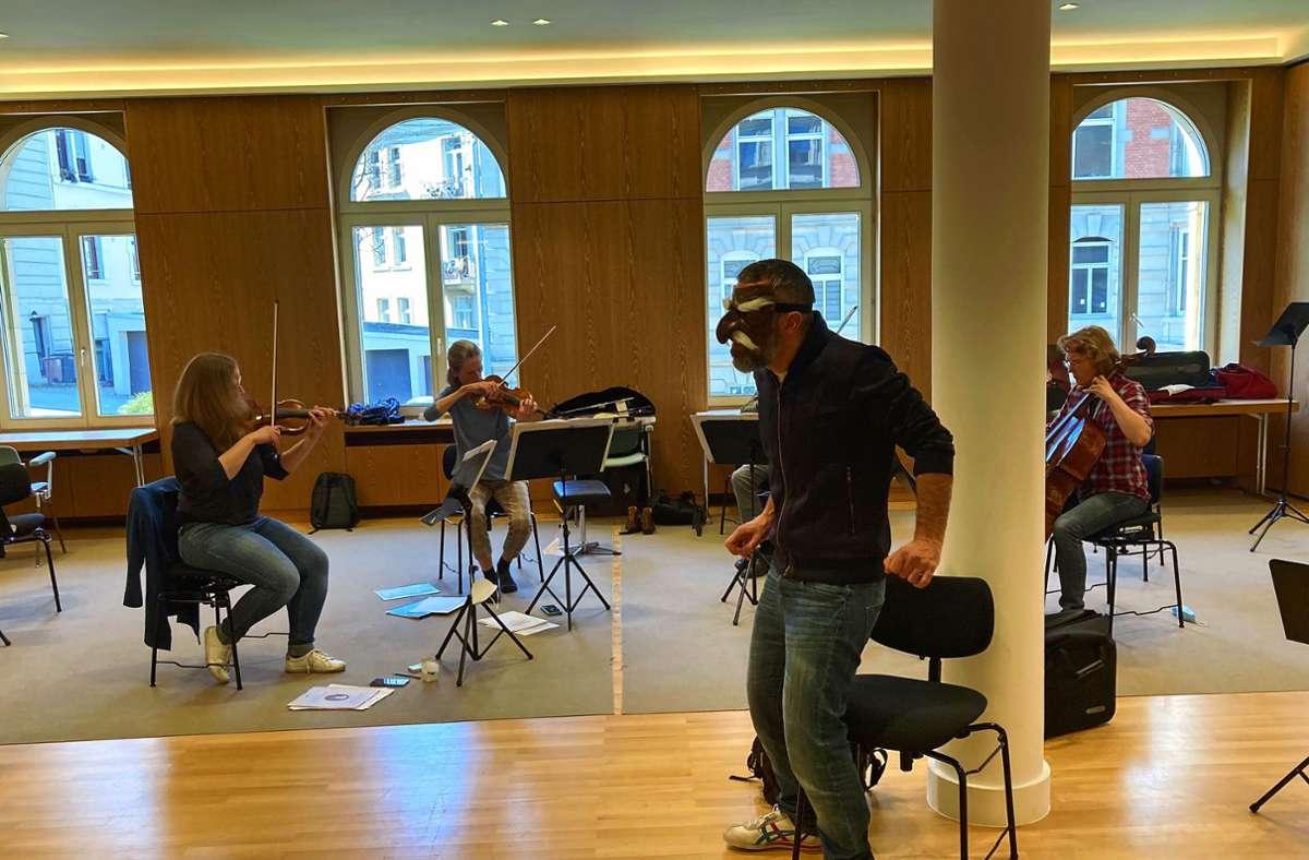 Die Proben laufen seit einer Weile. Foto: Stuttgarter Kammerorchester