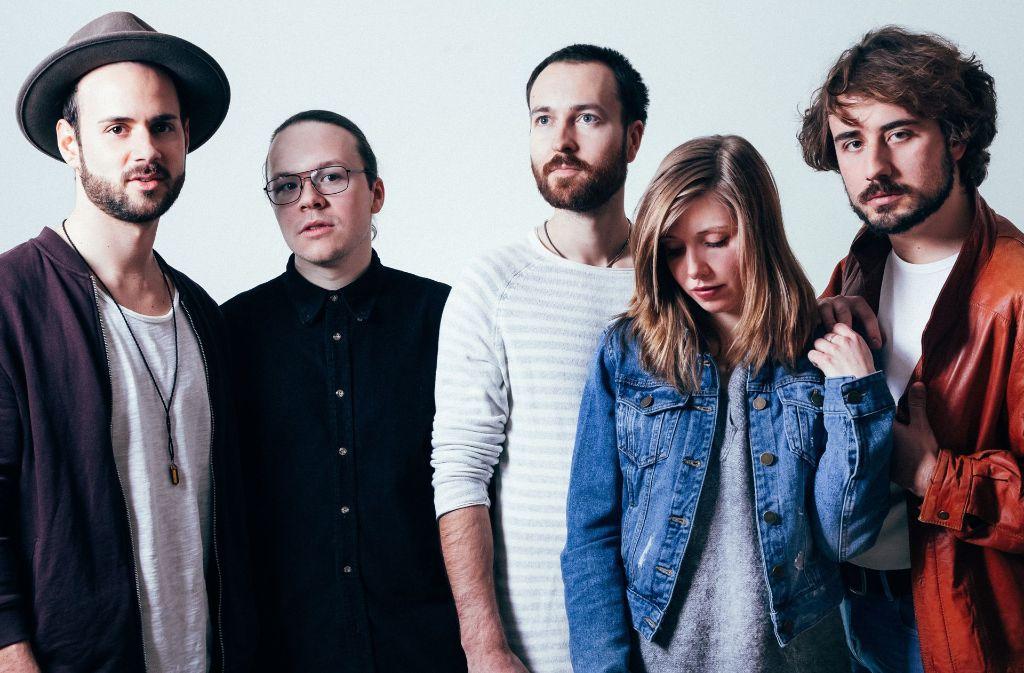 Die Stuttgarter Band Dia geht von Null auf Hundert. Am Samstag ist Release-Party im Merlin. Foto: Promo