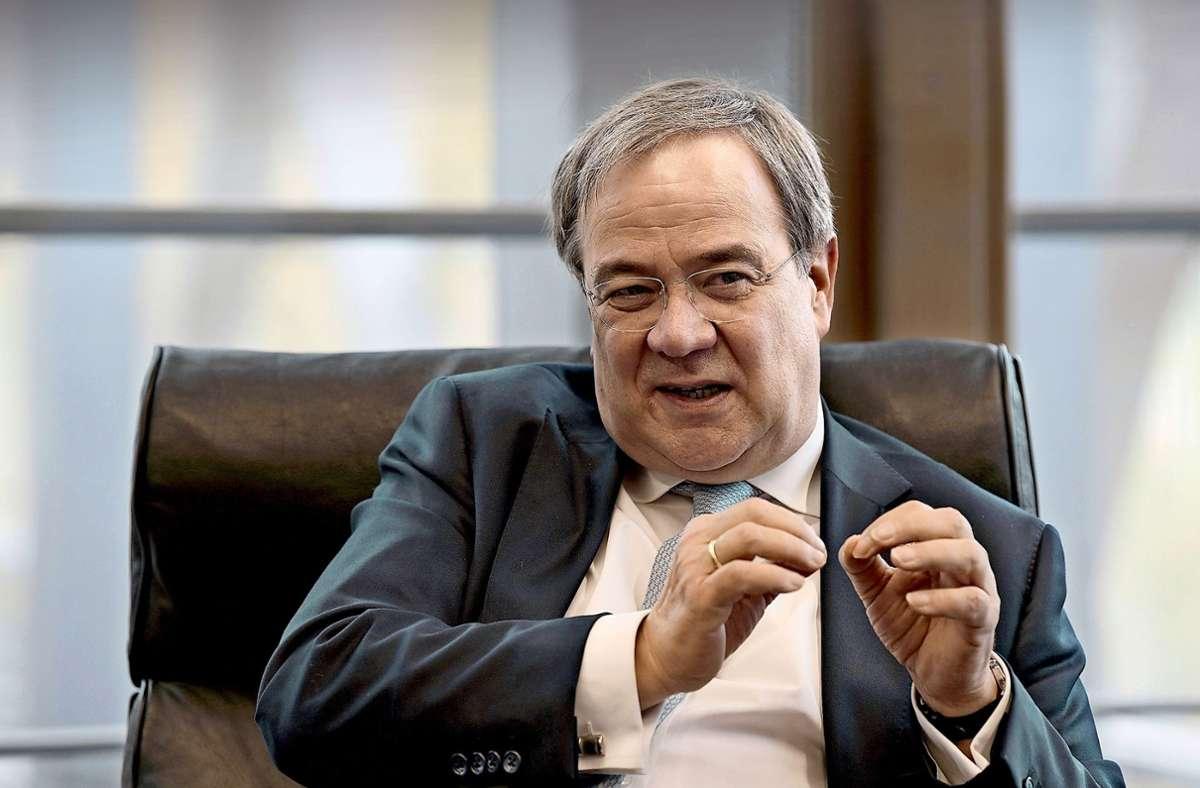 Armin Laschet will CDU-Chef und Bundeskanzler werden. Foto: Lipicom/Michael H. Ebner