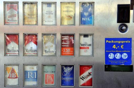 Zigarettenautomat in Gerlingen gesprengt