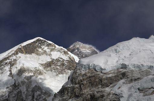 Vier Bergsteiger sterben unterhalb des Gipfels
