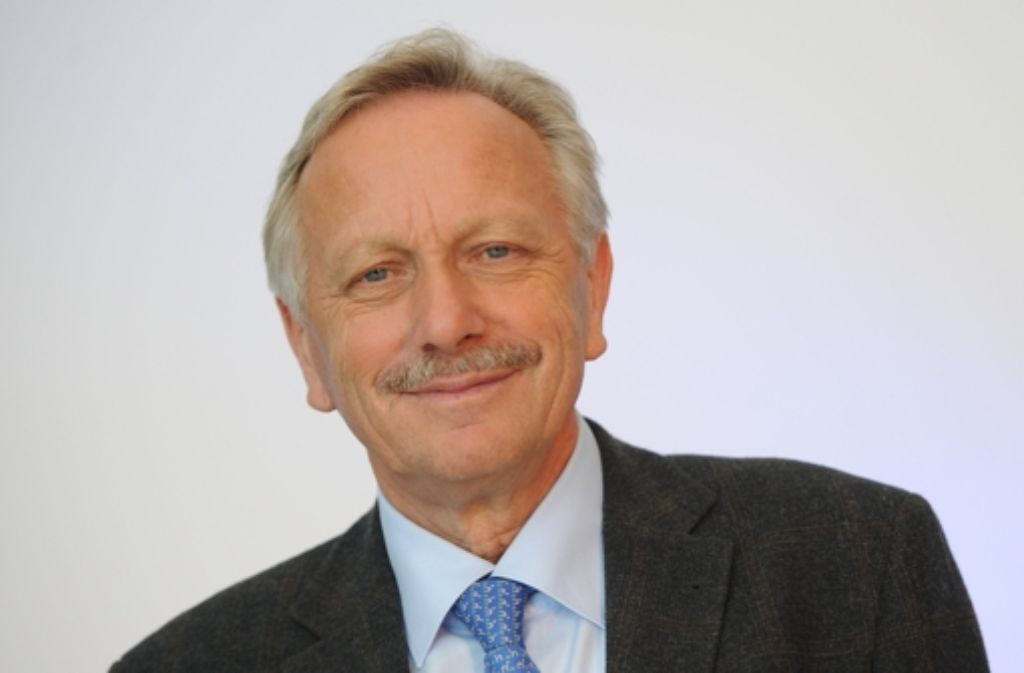 Joachim Schmidt bleibt Aufsichtsratschef des VfB Stuttgart. Foto: dpa-Zentralbild