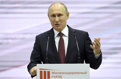 Putin will vierte Amtszeit als Präsident