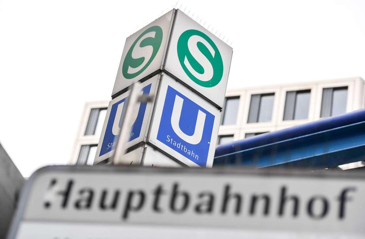 Der Vorfall ereignete sich in einer S-Bahn zwischen den Haltestellen Hauptbahnhof und Nordbahnhof. (Symbolbild) Foto: imago images/Lichtgut