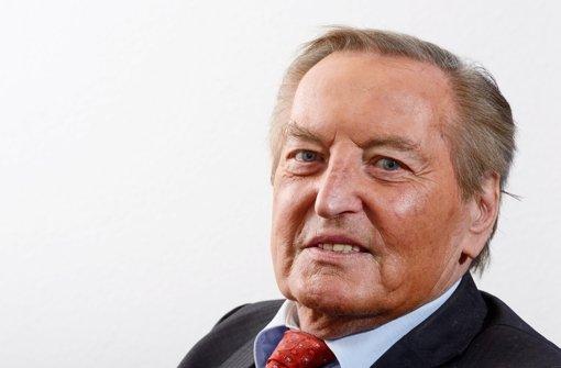 Gerhard Mayer-Vorfelder ist tot