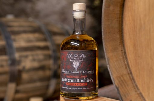 Der offizielle Whisky des Metal-Festivals kommt aus dem Schwabenland