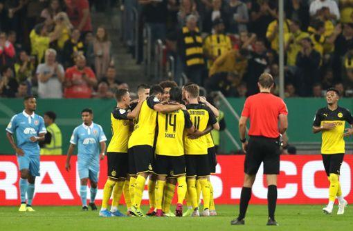 Borussia Dortmund und 1. FC Nürnberg sind eine Runde weiter