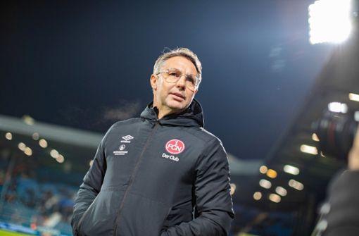 1. FC Nürnberg trennt sich von Trainer Damir Canadi