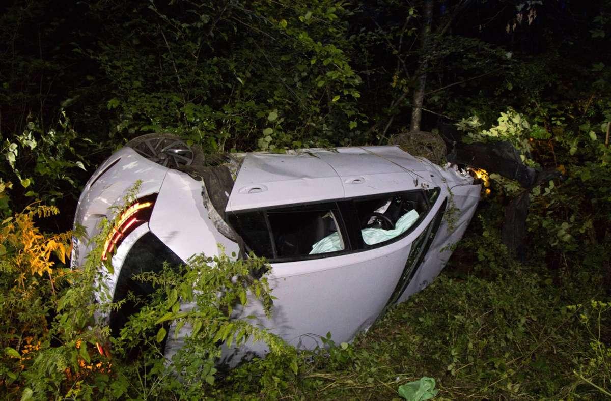 Die Polizei spricht von einem Sachschaden in Höhe von 20 000 Euro. Foto: 7aktuell.de/Bernd Fausel/7aktuell.de | Bernd Fausel