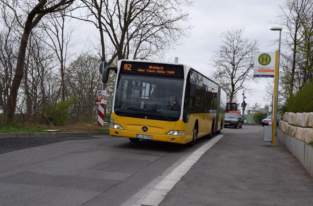 Während der Bauarbeiten kann die Buslinie 82 nicht durch den Dachswald fahren. Foto: Archiv Alexandra Kratz