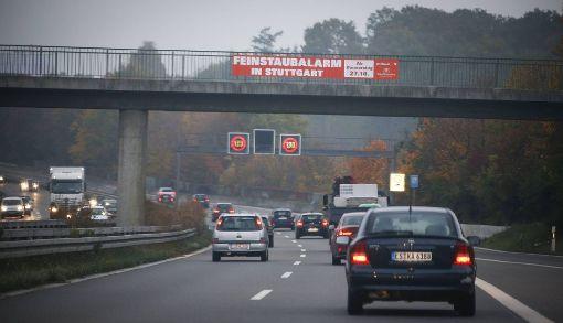 Am Donnerstag war im Stadtbezirk Vaihingen wenig Feinstaub in der Luft