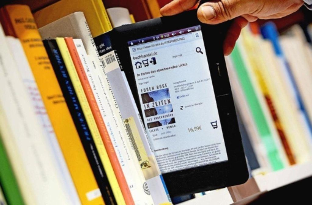 E-Books werden in Deutschland immer beliebter. Foto: dpa