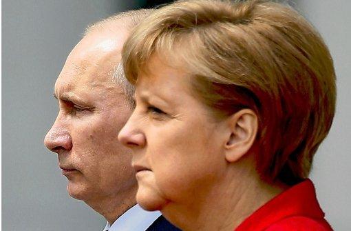 Merkels Forderung nach Rückgabe bleibt von Putin ungehört