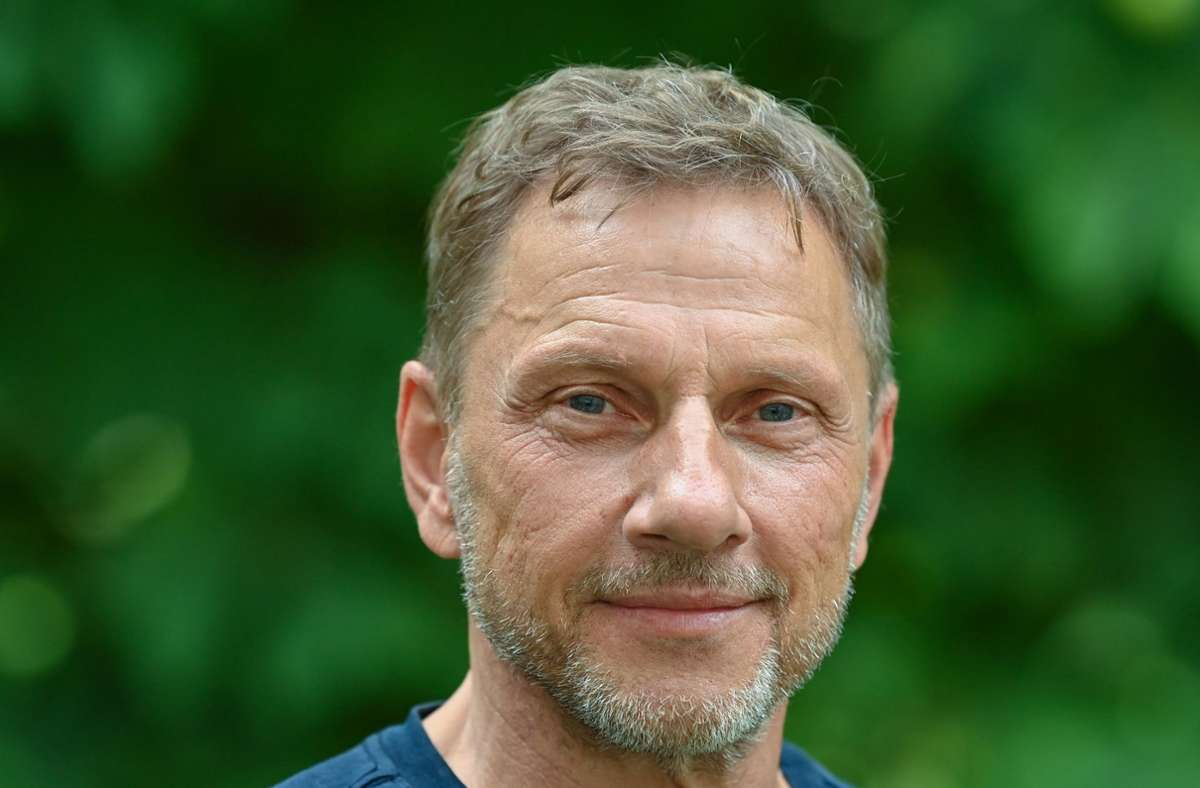 "Er fühlt sich, als hätte er mit dem Stuttgart-""Tatort"" ""gerade erst angefangen"": der Schauspieler  Richy Müller Foto: dpa/Patrick Pleul"