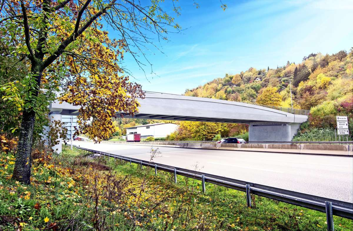 Die  B-10-Brücke Foto: /plan b, Agentur für visuelle Kommunikation