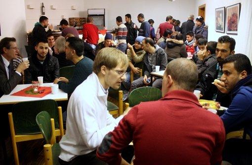 Asylcafé für Flüchtlinge geöffnet