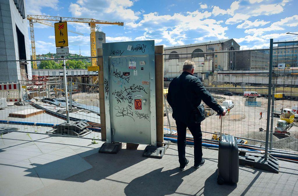 Stuttgart 21 zeigt sich vor allem alles Großbaustelle im Herzen der Stadt. Ob es das leistet, was es verspricht, ist derzeit wieder Gegenstand von Debatten. Foto: Lichtgut/Max Kovalenko