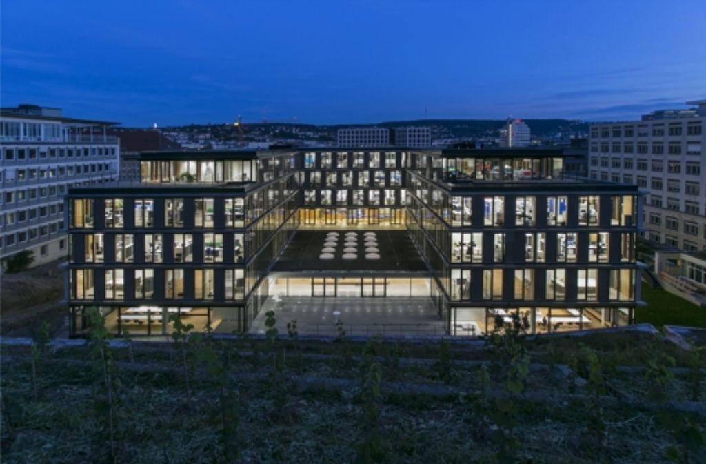 Das neue Gebäude der IHK Region Stuttgart Foto: Leif Piechowski