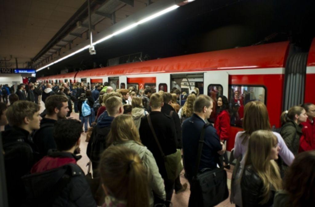 Die Zahl der Kunden im Stuttgarter Nahverkehr ist von Januar bis September um satte 3,4 Prozent gestiegen. Foto: Lichtgut/Max Kovalenko